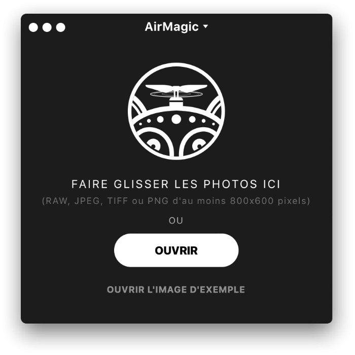 Le nouveau logiciel AirMagic de Skylum
