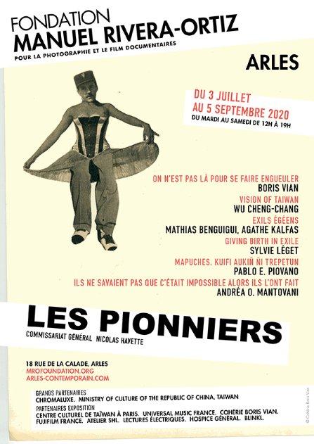 ARLES CONTEMPORAIN / LES PIONNIERS/  Fondation Manuel Rivera-Ortiz