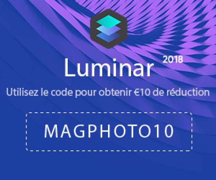 Offre de réduction Luminar 2018