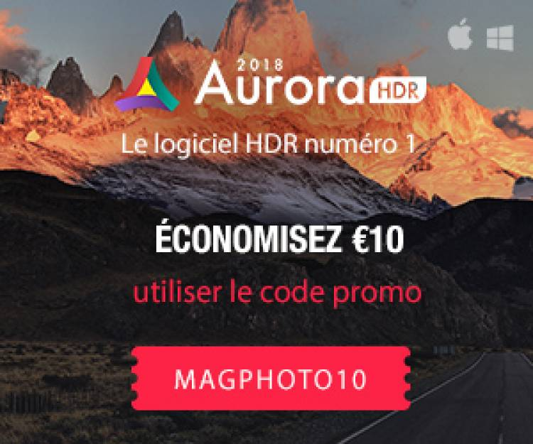 Offre exclusive AURORA HDR 2018